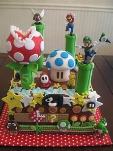 deco anniversaire mario mario brothers luigi yoshi cake sweet lealea