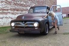 ford f 100 cab chassis 1955 patina for sale 1955 ford f100 f 100 custom cab patina pickup