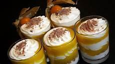 giraffencreme dessert im glas