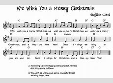 we wish you merry christmas song