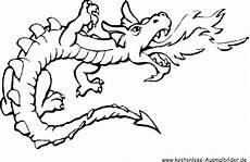 ausmalbild feuerspuckender drache zum ausdrucken