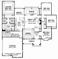 single story open concept house plans one story open floor plans with 4 bedrooms generous one