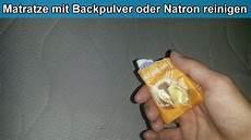 Matratze Mit Natron Oder Backpulver Reinigen Bett