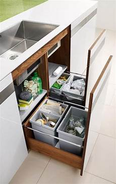 platz sparen wohnung platzsparende m 252 lltrennung quot k7 quot team 7 k 252 chen kitchen decor diy kitchen cabinets und