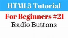 html5 tutorial for beginners 21 radio buttons