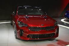 kia stinger 2017 detroit 2017 kia stinger gt with 365hp gtspirit