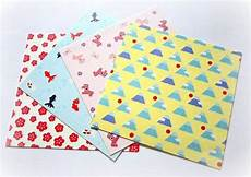 of 20 sheets of modern washi chiyogami paper