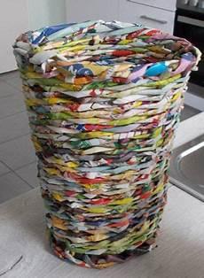 Heute Recycling 220 Bert 246 Pfe Korbflechten Aus Altpapier
