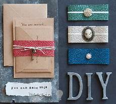 diy wedding invitation wraps how to make wrap invitations imagine diy