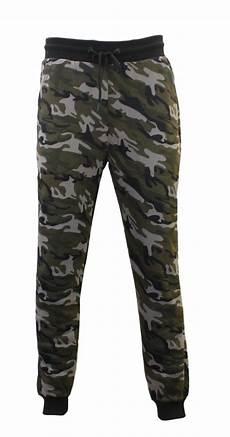 mens camouflage track jogger camo slim fit