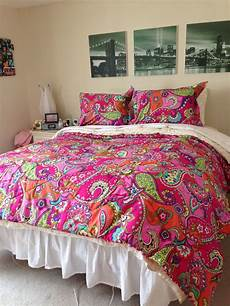 my bedroom with the pink swirls full queen comforter mysuitesetupsweepstakes vera bradley