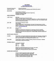 sle resume template 53 download in psd pdf word