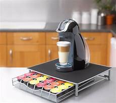 coffee machine stand capsule pod storage holder drawer