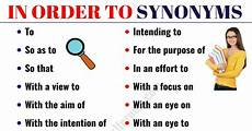 in order to synonym 18 synonyms for in order to with