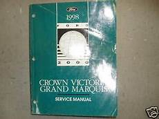 automotive repair manual 1998 ford crown victoria on board diagnostic system 1998 ford crown victoria mercury grand marquis service shop repair manual ebay