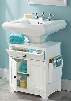 the pedestal sink storage cabinet small bathroom storage