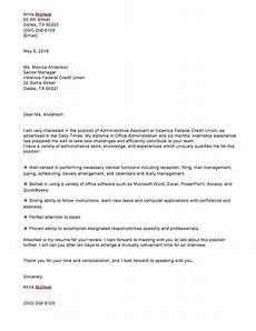 administrative assistant cover letter no experience top form templates free templates download