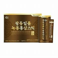 korean deer antler red ginseng extract stick 10ml x 30pcs
