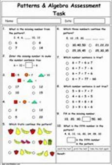 patterns and algebra worksheets pdf 22 continuing number sequences including fractions and decimals mathematics skills