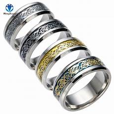 4 colors vintage gold free shipping dragon 316l stainless steel ring mens jewelry for men lord