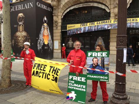 Greenpeace Manifestation