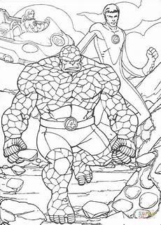 Superhelden Ausmalbilder Zum Drucken Ausmalbild Die Fantastischen Vier Superhelden