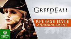 greedfall reveal everything en on mil said or say nothing greedfall release date announcement youtube