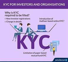 mutual fund kyc aadhaar ekyc kyc forms ekyc for