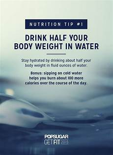 do i need 12 3 how much water do i need to drink popsugar fitness