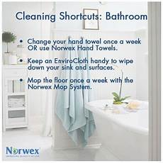 Clean Bathroom Once A Week rather than saving bathroom chores for once a week