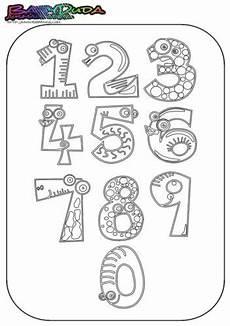 Zahlen Ausmalbilder Bis 10 Ausmalbilder Zahlen Vorlagen Zum Z 228 Hlen Lernen