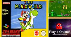 Malvorlagen Mario Emulator Play Mario World On Nintendo