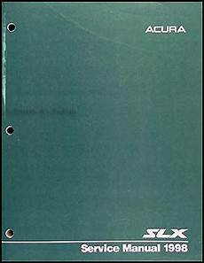 car repair manual download 1999 acura slx navigation system 1998 1999 acura slx electrical troubleshooting manual original