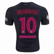 zlatan ibrahimovic psg third jersey 2015 16 s soccer