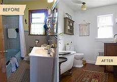 Home Improvement Ideas Bathroom Bathroom Makeovers Fast Renovation Tips Before After