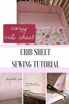crib sheet tutorial a boo pages patterns fabric more