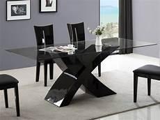 esstisch schwarz glas esstisch glas hochglanz hollis schwarz g 252 nstig kaufen