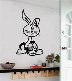 home decor stickers easter bunny vinyl decal wall sticker home decor