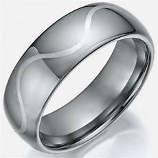cheap silver wedding rings for men