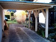 Garage An Garage Anbauen by Garagen Anbau Pkw Unterstand Sams Gartenhaus Shop