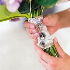 memory charm for bridal bouquet wedding keepsake photo