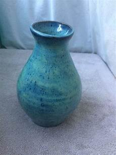 amaco pottery ceramic vase glazed with 3x thick of amaco textured