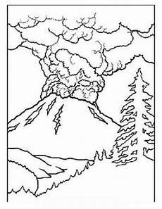 malvorlagen zum drucken ausmalbild vulkan kostenlos 1