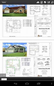 free cad software for house plans 100 house plans in pdf and cad for android free download