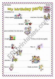 birthday celebration worksheets 20208 my birthday esl worksheet by mouka