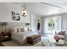 Louis Vuitton Trunk at Foot of Bed   Contemporary   Bedroom