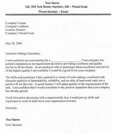 sle cover letters for employment sle cover letter for application hunting