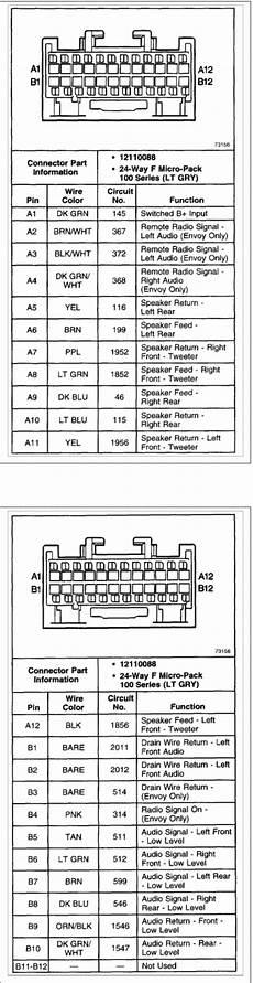 buy car manuals 2004 gmc envoy xuv head up display 2004 gmc envoy xuv radio wiring diagram