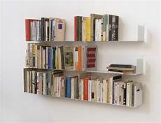 mensole libri judd wall shelves by teebooks keep your books suspended