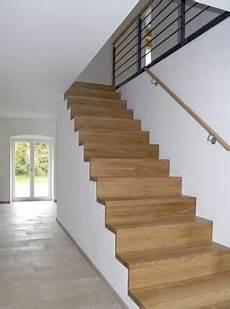 treppe im eg eichenparkett treppe haus moderne